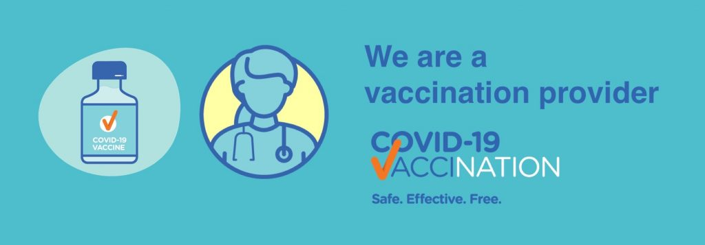 we are a covid-19 vaccination provider